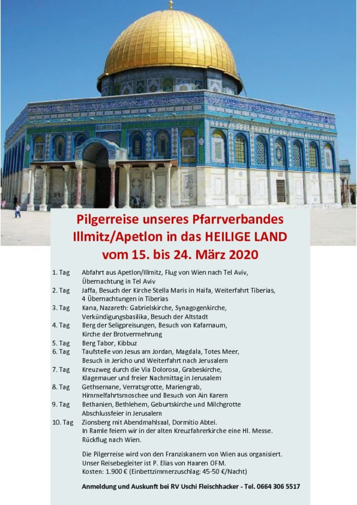 thumbnail of Heiliges Land_Programm