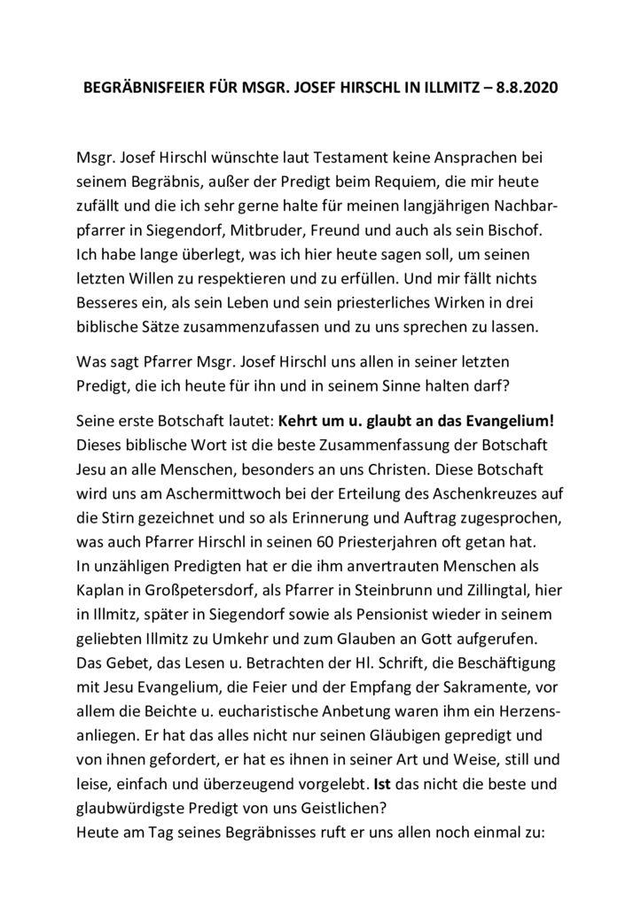 thumbnail of Predigt_Begräbnis J_Hirschl 2020_08_08